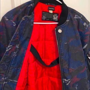 NWT Diesel W-Max Camo Bomber Jacket Mens XXL Ltd..